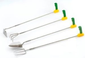 easi grip long reach garden tools set