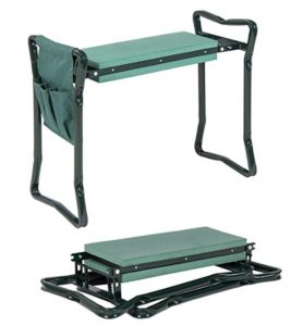 garden kneeler and seat for knee protection