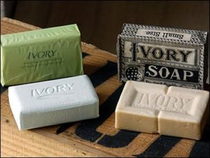 ivory soap to repel bunnies