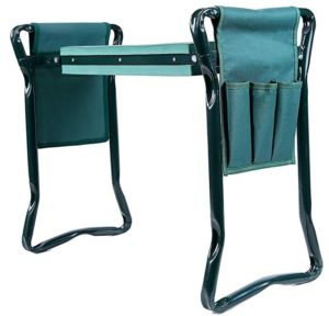 ohuhu garden kneeler and seat with tool pouches