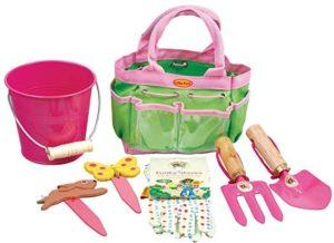 tierra garden 7-lp380 little pals kids junior garden kit with gloves
