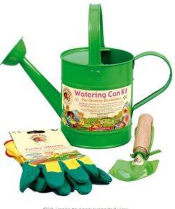 tierra garden 7-lp431 little pals kids watering can kit