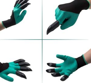 yht garden gloves with claws