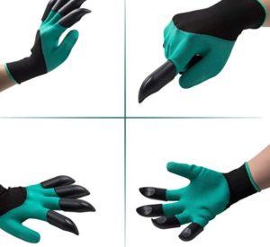 gants de jardin yht avec griffes