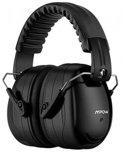 Mpow 035 Noise Reduction Safety Ear Muffs, Shooters Hearing Protection Ear Muffs, Adjustable Shooting Ear Muffs