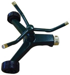orbital metal 3 arm lawn water sprinkler