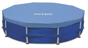 Intex Round Metal Frame Pool Cover