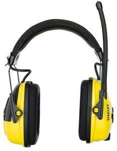 Stanley Sync Digital AM FM MP3 Radio Earmuff (RST-63012)