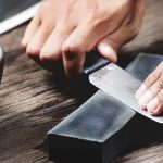 how to clean a sharpening stone