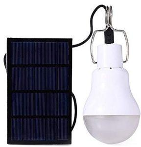Afoskce Outdoor 130LM Portable Solar Powered Led Bulb