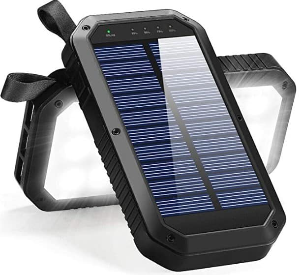 BESWILL Portable Solar External Battery Power Bank