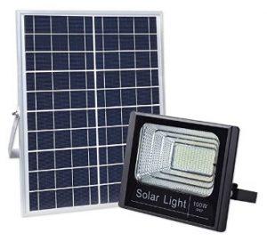 Cyberdax 100W Solar Flood Light