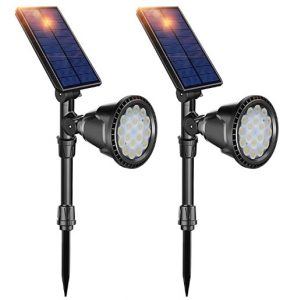 DBF Outdoor Solar Spotlights