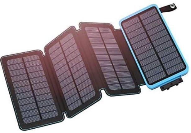Hiluckey Solar Charger Power Bank