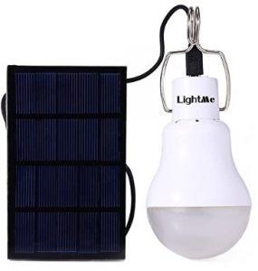 LightMe Portable 130LM Solar Powered Led Bulb