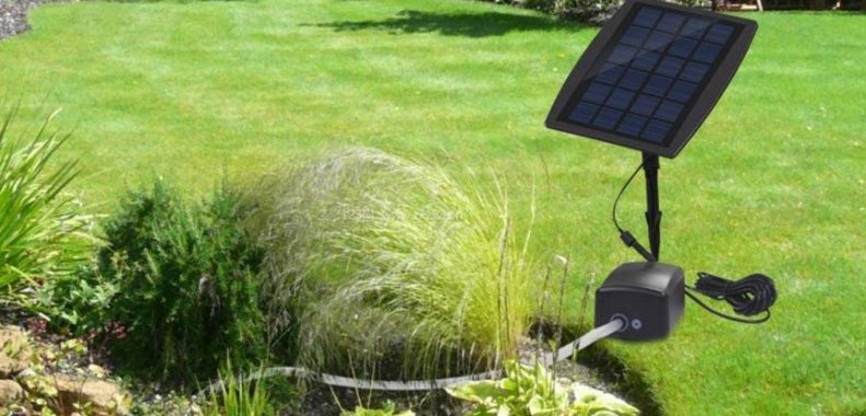 best solar powered pond aerator